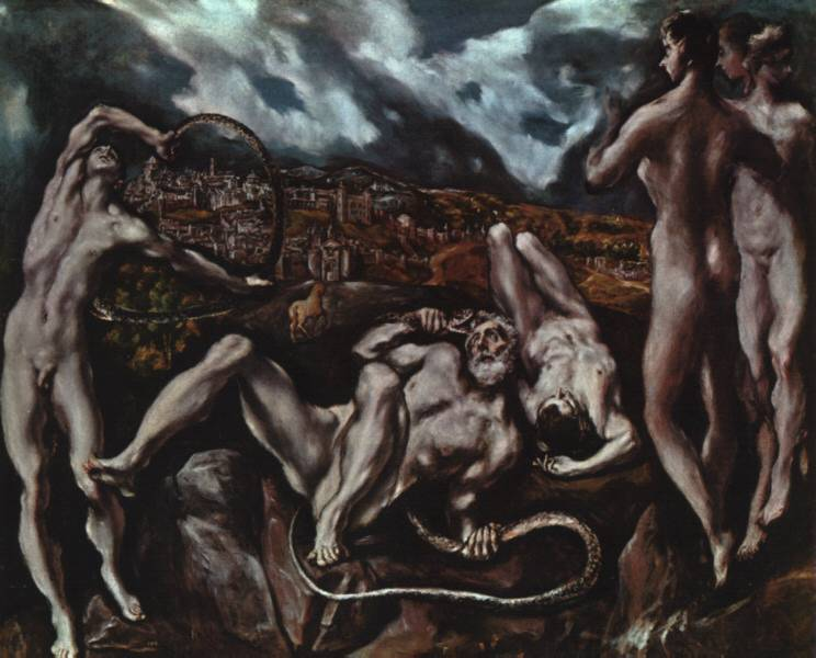 El_Greco-Laocoon