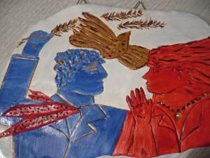 Φασιανός – Ζωγραφική σε πηλό
