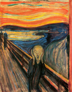 The Scream Edvard Munch (1893)