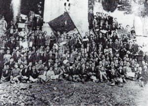 Απεργοί στη Λιβαδειά την Πρωτομαγιά του 1919