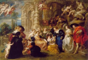 The Garden of Love (1610)  Peter Paul Rubens